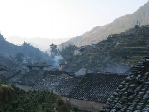 The smokes rising from my home village!