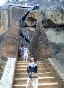 A must to stand in the middle of the Lion Staircase and have my picture taken before going up to the top. :)