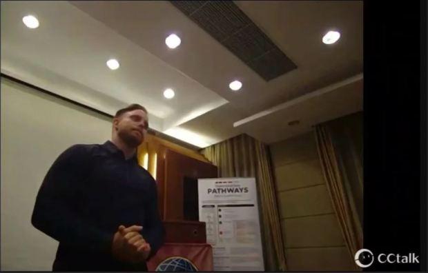 --- The evaluator, Brian Pippard, Shanghai, 2019.1 | 点评人Brian Pippard