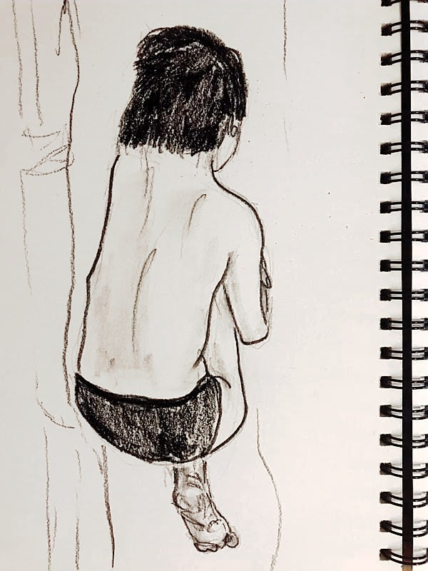Drawing by Yantong, 2019.8.17